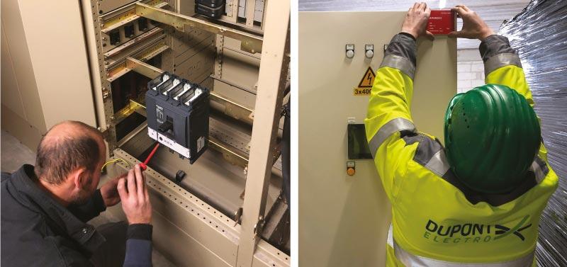 hoogspanning onderhoud Dupont Electro